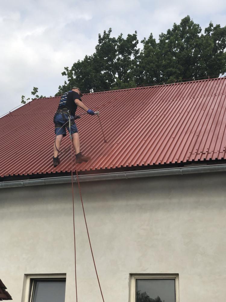 Nátěr střech