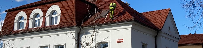 Ukázka realizace - Čištění střechy v Poděbradech
