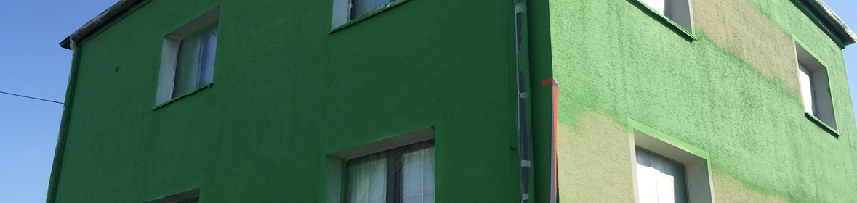 Ukázka realizace - Nátěr fasády v Opavě