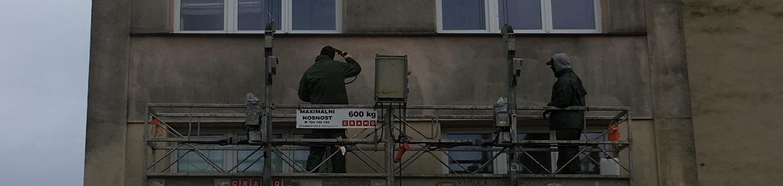 Ukázka realizace - Mytí čištění fasády v Ostravě