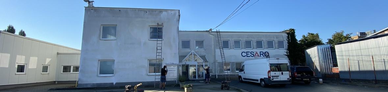 Ukázka realizace - Nátěr fasády v Brně