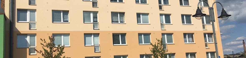 Ukázka realizace - Mytí a nátěr fasády v Moravském Berouně