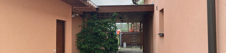 Ukázka realizace - Nátěr fasády v Hradci Králové