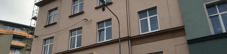 Ukázka realizace - Mytí a nátěr fasády v Ostravě