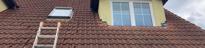Ukázka realizace - Čištění střechy Zvole