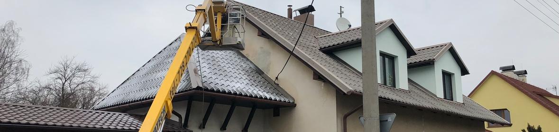 Ukázka realizace - Nátěr střechy v Příboře