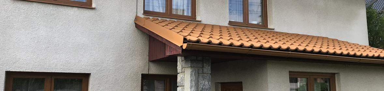 Ukázka realizace - Nátěr fasády rodinného domu