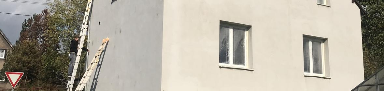 Ukázka realizace - Nátěr fasády v Ostravě