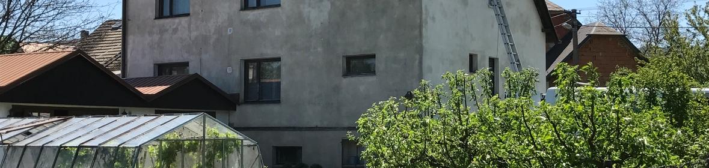 Ukázka realizace - Nátěr fasády v Hradci nad Moravicí