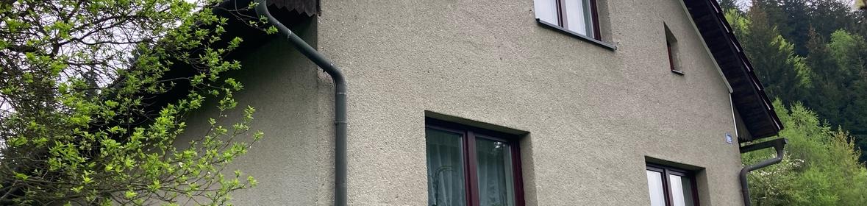 Ukázka realizace - Nátěr fasády v Prostřední Bečvě