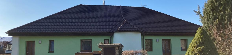 Ukázka realizace - Nátěr střechy rodinného domu
