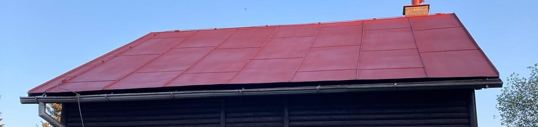 Ukázka realizace - Nátěr střechy v Seči