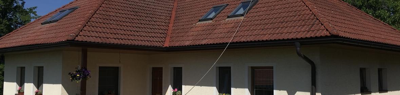 Ukázka realizace - Čištění střechy ve Zlíně