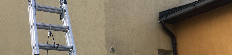 Ukázka realizace - Čištění fasády v Hlučíně