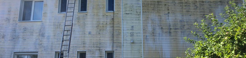 Ukázka realizace - Mytí fasády v Odrách