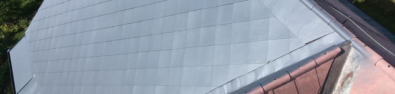 Ukázka realizace - Nátěr eternitové krytiny v Havířově