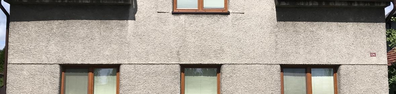 Ukázka realizace - Mytí a nátěr fasády ve Studénce