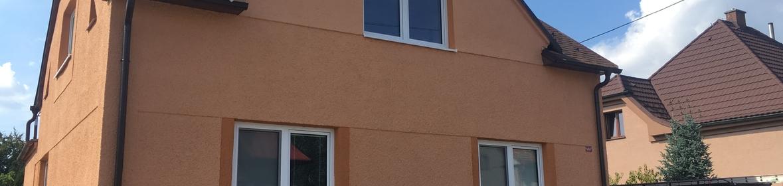 Ukázka realizace - Nátěr fasády ve Studénce