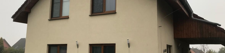 Ukázka realizace - Nátěr fasády v Praze