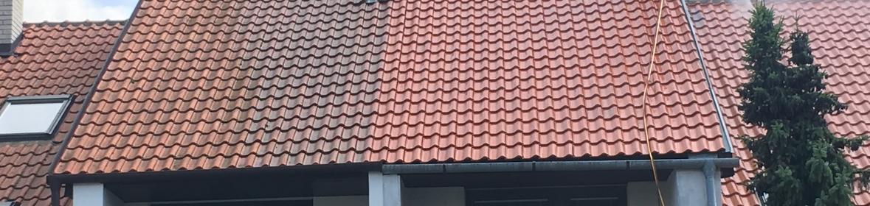 Ukázka realizace - Čištění střechy v Brně